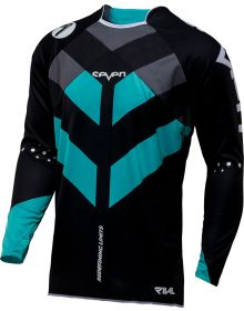 Seven 17.1 Rival Venom Jersey Aqua/Black