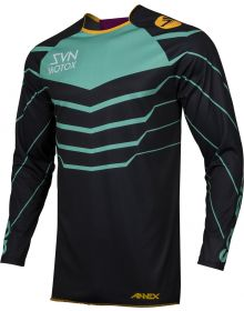 Seven Annex EXO Jersey Black/Aqua