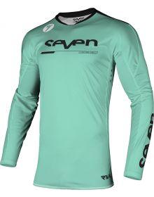 Seven Rival Rampart Jersey Black/Mint
