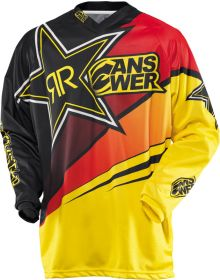 Answer 2014 Rockstar Jersey Black/Red/Yellow