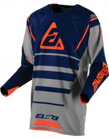 Answer Racing 2019 Elite Force Jersey Charcoal/Midnight/Orange