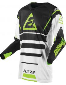 Answer Racing 2019 Elite Force Jersey White/Charcoal/Hyper Acid