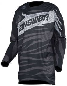Answer 2020 Elite OPS Jersey Black/Charcoal
