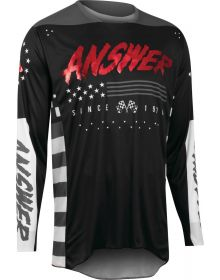 Answer Racing A22 Elite Redzone Jersey Black/Red