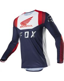 Fox Racing 2020 Flexair Honda Jersey Navy/Red