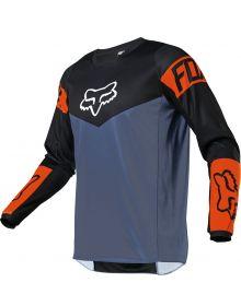 Fox Racing 2021 180 Revn Jersey Blue Steel