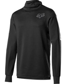 Fox Racing 2021 Defend Thermo Hooded Jersey Black
