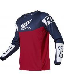 Fox Racing 180 Honda Jersey Navy/Red