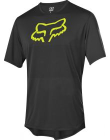 Fox Racing Ranger Foxhead Short Sleeve Jersey Black/Yellow
