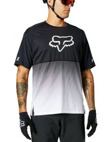 Fox Racing MTB Flexair SS Jersey Black/White