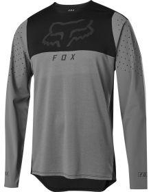 Fox Racing MTB Flexair Delta Longsleeve Jersey Pewter