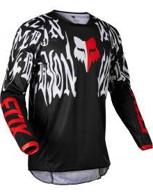 Fox Racing 180 Peril Jersey Black/Red