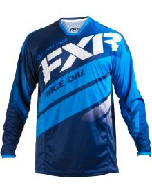 FXR 2018 Mission Jersey Navy/Blue/White