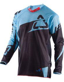 Leatt GPX 4.5 X-Flow Jersey Black/ Blue