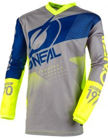 O'Neal 2020 Element Jersey Factor Gray/Blue/Neon Yellow