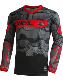 O'Neal 2022 Element Camo Jersey Black/Red