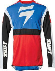 Shift MX 2020 3lack Label Race 2 Jersey Blue/Red