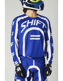 Shift MX Black Label Curv Jersey Blue
