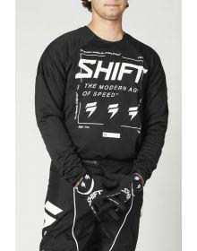 Shift MX White Label Bliss Jersey Black/White
