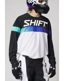 Shift MX White Label Ultra Jersey White/Ultraviolet