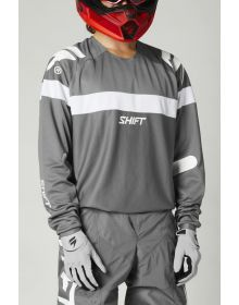 Shift MX White Label Void Jersey Gray/White
