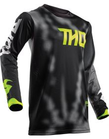 Thor 2018 Pulse Air Radiate Jersey Black