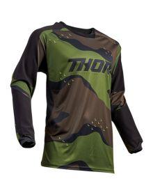 Thor 2019 Terrain Jersey Green Camo