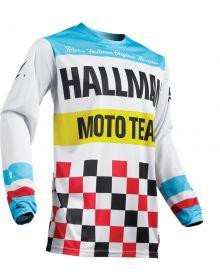 Thor Hallman Heater Jersey White/Blue