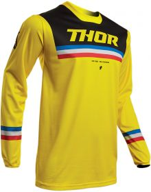 Thor 2020 Pulse Pinner Jersey Yellow