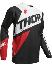 Thor 2020 Sector Blade Jersey Charcoal/Red