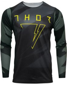 Thor 2021 Prime Pro Cast Jersey  Military Green/Black