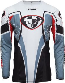 Thor 2021 Pulse 03 LE Throwback Jersey Steel/Red
