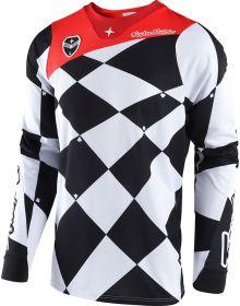 Troy Lee Designs 2018 SE Joker Jersey White/Black