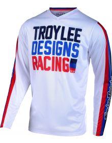 Troy Lee Designs GP Air Jersey Premix 86 White