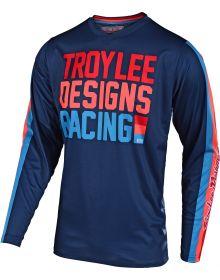 Troy Lee Designs GP Air Jersey Premix 86 Navy