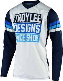 Troy Lee Designs GP Air Jersey Carlsbad White/Navy