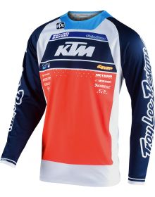 Troy Lee Designs SE Pro Jersey Boldor Team Orange/Navy