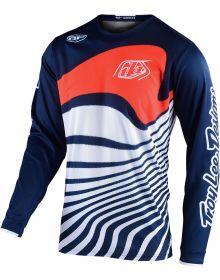 Troy Lee Designs GP Jersey Drift Navy/Orange