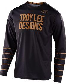 Troy Lee Designs GP Jersey Pinstripe Black/Gold