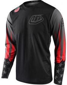 Troy Lee Designs GP Jersey LTD Liberty Black/Gray