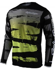 Troy Lee Designs GP Jersey Brushed Black/Glo Green
