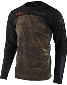 Troy Lee Designs Scout SE Jersey Systems Camo Green