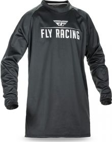 Fly Racing Windproof Jersey Black/Grey