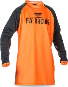 Fly Racing 2017 Windproof Jersey Flo-Orange/Black