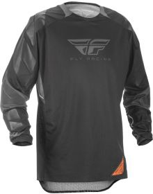 Fly Racing 2018 Patrol XC Jersey Black/Grey