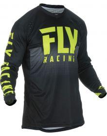Fly Racing 2019 Lite Hydrogen Jersey Black/Hi-Vis