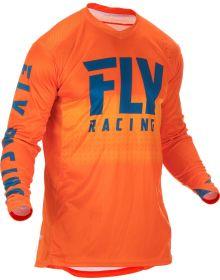 Fly Racing 2019 Lite Hydrogen Jersey Orange/Navy