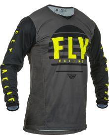 Fly Racing 2020 Kinetic K220 Jersey Black/Grey/Hi-Vis
