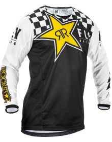 Fly Racing 2020 Kinetic Rockstar Jersey Black/White