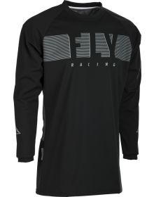 Fly Racing 2020 Windproof Jersey Black/Grey